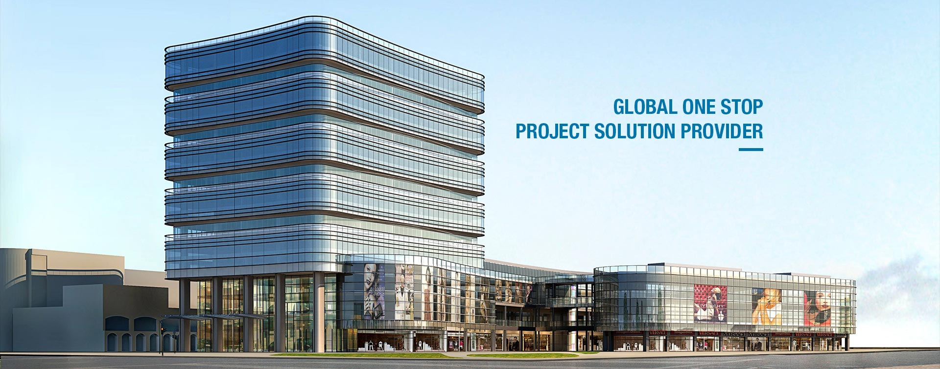 Zhonglian Building Material Global one Stop Project Solution Provider
