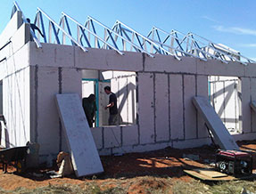 South Africa - cement sandwich panel project
