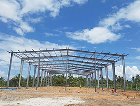 Tanzania - steel structure project